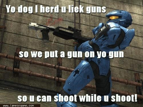 Funny Pics Of Dogs With Guns Funny video game scree...