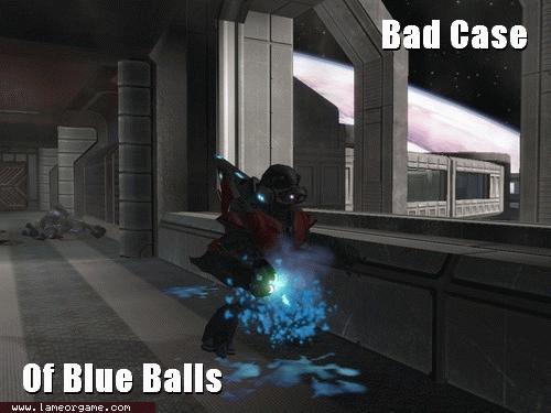Bad Case Of Blue Balls